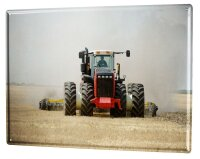 Tin Sign XXL Nostalgic Tractor Ravtive Agriculture