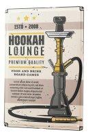 Tin Sign XXL Tobacco Shisha Hookah Lounge