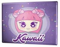 Tin Sign XXL Fun Kitchen Manga Kawaii