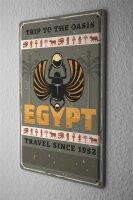 Tin Sign XXL Adventurer Egypt