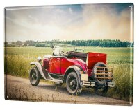 Tin Sign XXL Nostalgic Tractor Ravtive tractor