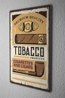 Tin Sign XXL Tobacco Tobacco Cigar