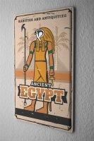 Tin Sign XXL Egyptian Egypt