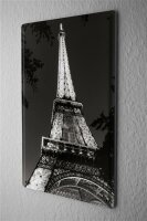 Tin Sign Holiday Travel Agency Paris Eiffel tower