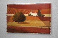 Blechschild Galerie Maler Franz Heigl Bild Landschaft...