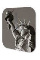 Wall Clock Holiday Travel Agency Statue of Liberty New...