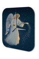 Fun Decorative Wall Clock Angel Star Painting Printed...