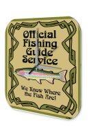 Wall Clock Coastal Marine Decoration fishing guide...