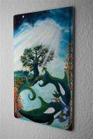 Tin Sign Gothic Krakowski Dream Tree Orca Orca Dream...