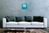 Decorative Wall Clock Vet Practice pufferfish Acryl...