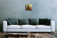 Nostalgic Wall Clock Pirate parrot ship Printed Acryl...
