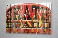 M.A. Allen Retro Tin Sign Poster U.S. warning sign Deco...