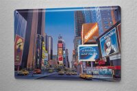 Tin Sign City G. Huber Times Square New York