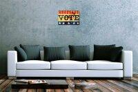 Blechschild M. A. Allen Retro US Deko Wahlplakat Nostalgie Werbung 20x30 cm