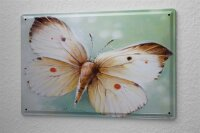tin sign metal plate Arkadiusz Warminski butterfly wing...