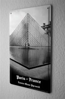 tin sign metal plate Dave Butcher photo France Paris...