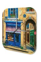 Wall Clock Holiday Travel Agency Cheese shop Fromagerie...