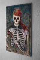 Tin Sign Fun Ravtive Skeleton pirate