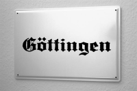 Tin Sign Göttingen City Name poster metal blate plaque...