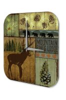 Wall Clock Holiday Travel Agency Alaska Plexiglass