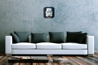 Decorative Wall Clock Vet Practice Hippopotamus Acryl...