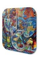 Wall Clock Nile Cairo Egypt Pharaoh African Art Acrylglass