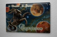 Tin Sign Horoscope Krakowski Capricorn