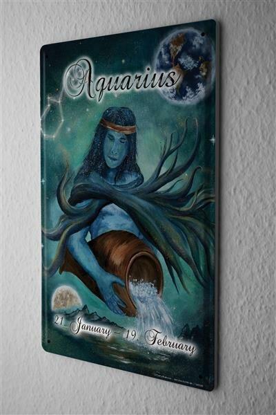 Blechschild Nostalgie Krakowski Aquarius
