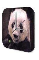 Decorative Wall Clock Vet Practice Panda Acryl Acrylglass